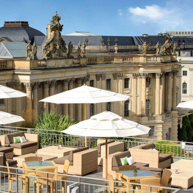 Dachterrasse Hotel de Rome Unter den Linden in Berlin-Mitte-7