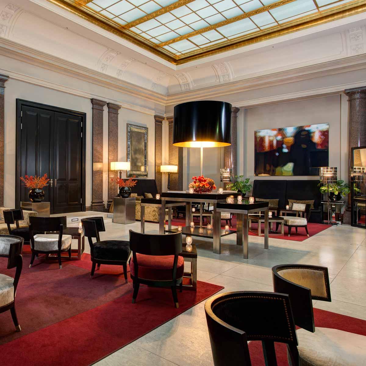 Hotel de Rome Unter den Linden in Berlin-Mitte Lobby
