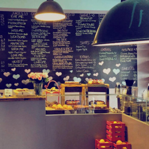 What do you fancy love? Berlin Charlottenburg Smoothie und Saft Bar