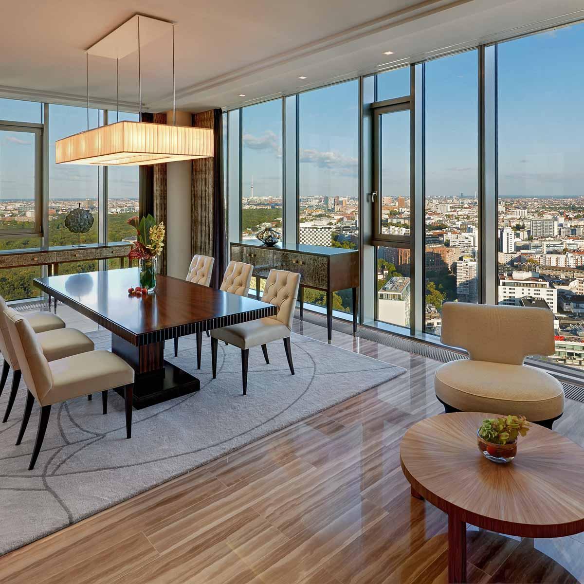Luxus Hotel Waldorf Astoria Berlin Charlottenburg Suite