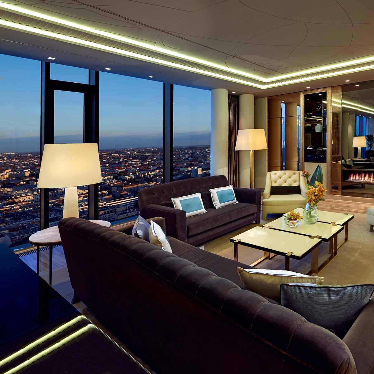 Luxus Hotel Waldorf Astoria Berlin Bibliothek