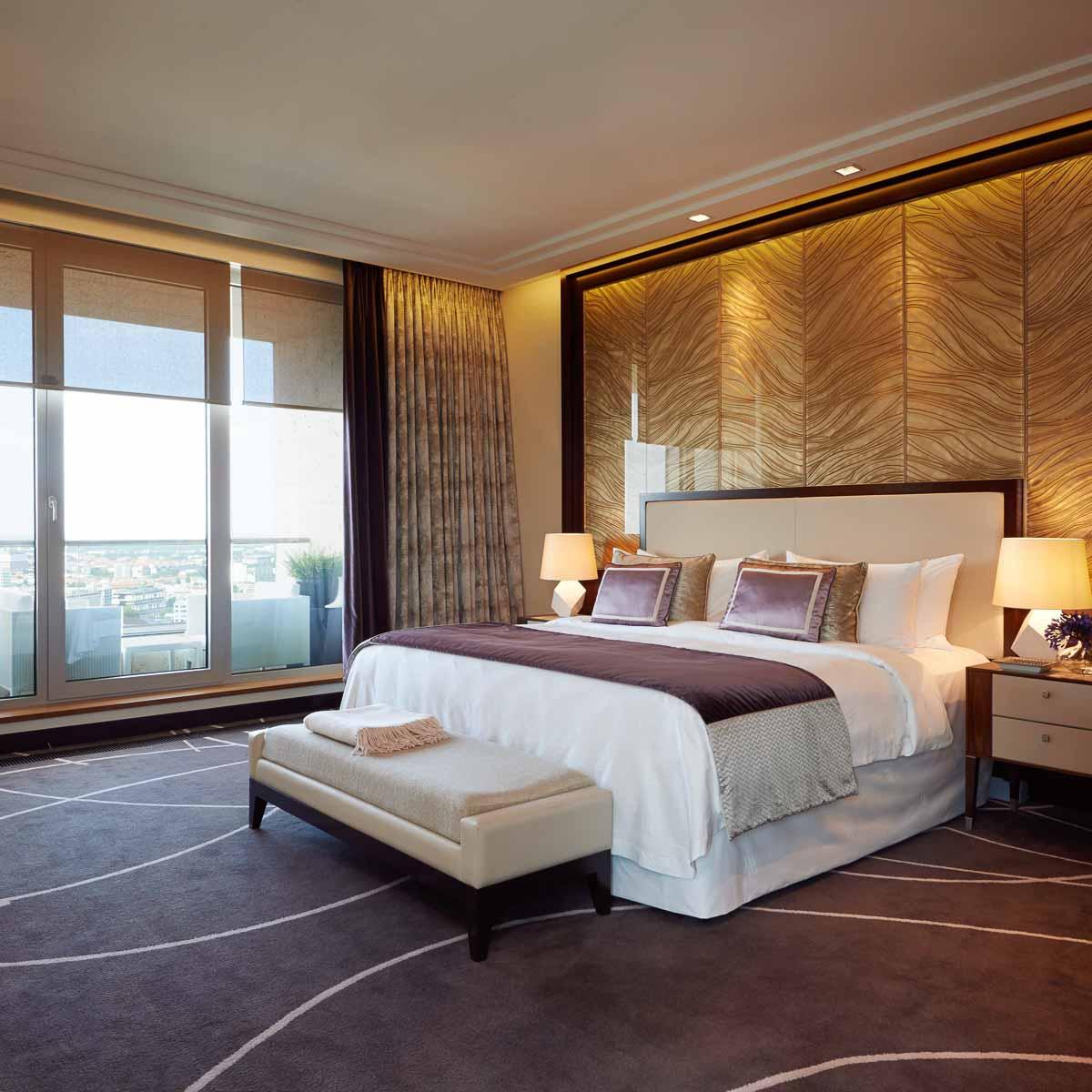 Luxus Hotel Waldorf Astoria Berlin Schlafzimmer