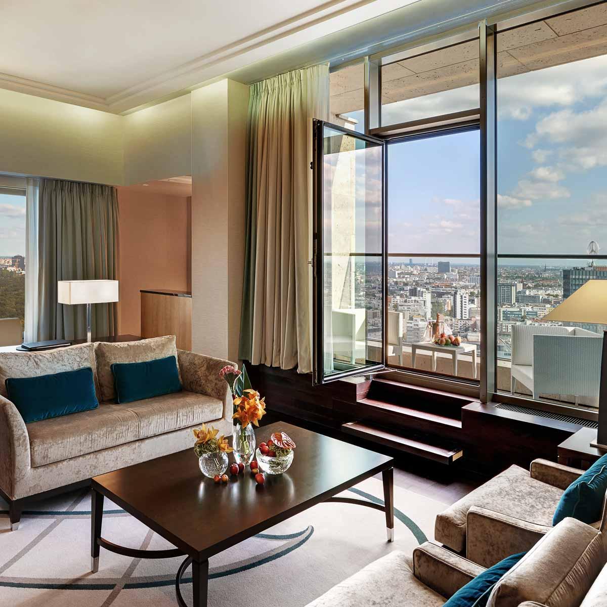 Luxus Hotel Waldorf Astoria Berlin Suite