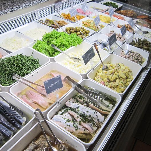 Der Fischladen Berlin Schönhauser Allee Fischtheke