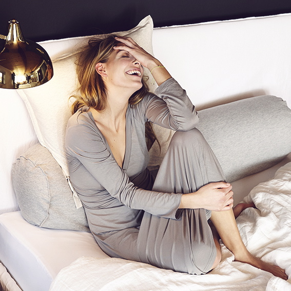 Sunday In Bed Bettwäsche Homewear Online Bestellen Creme Guides