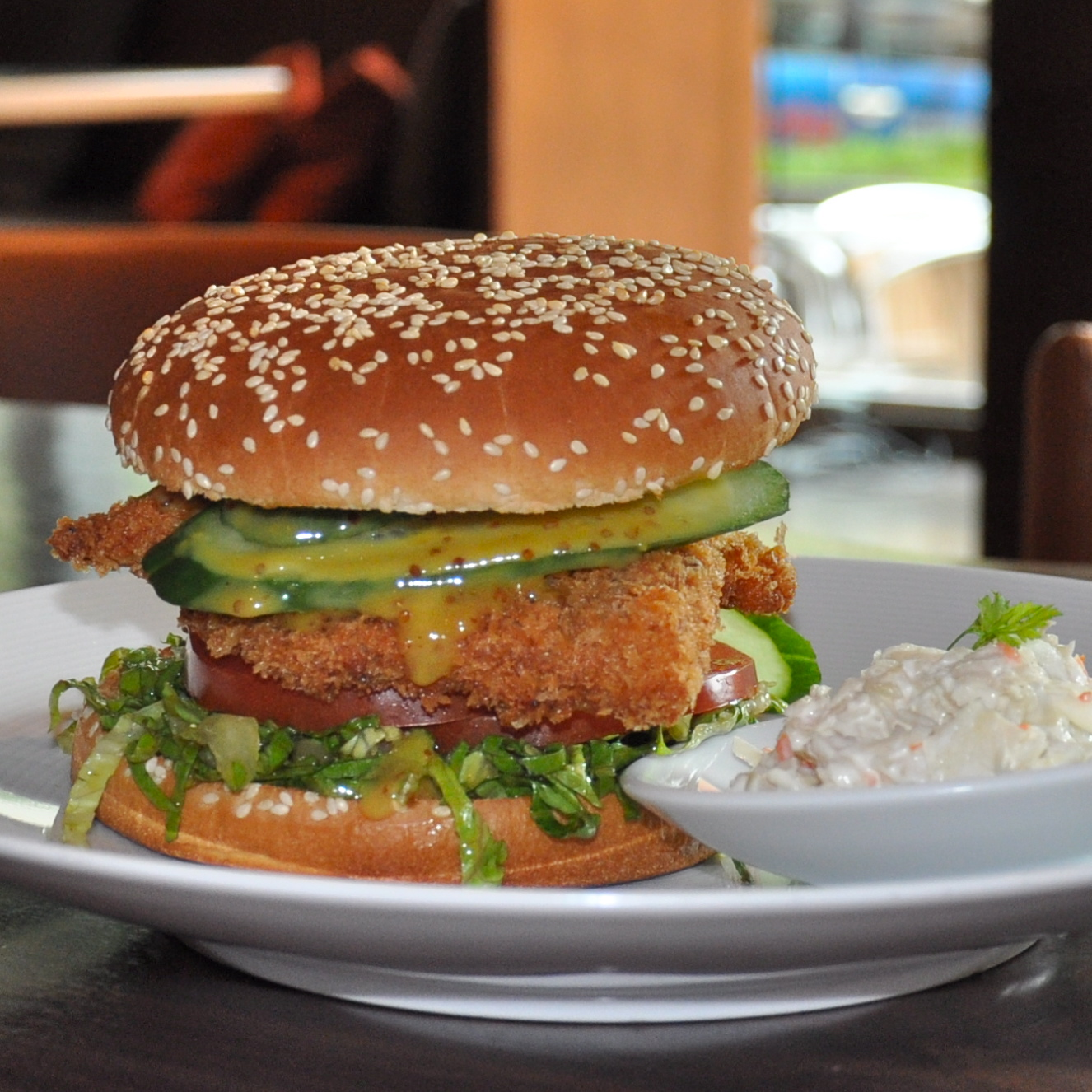 Tizian-Hyatt-Burger-essen-Chicken