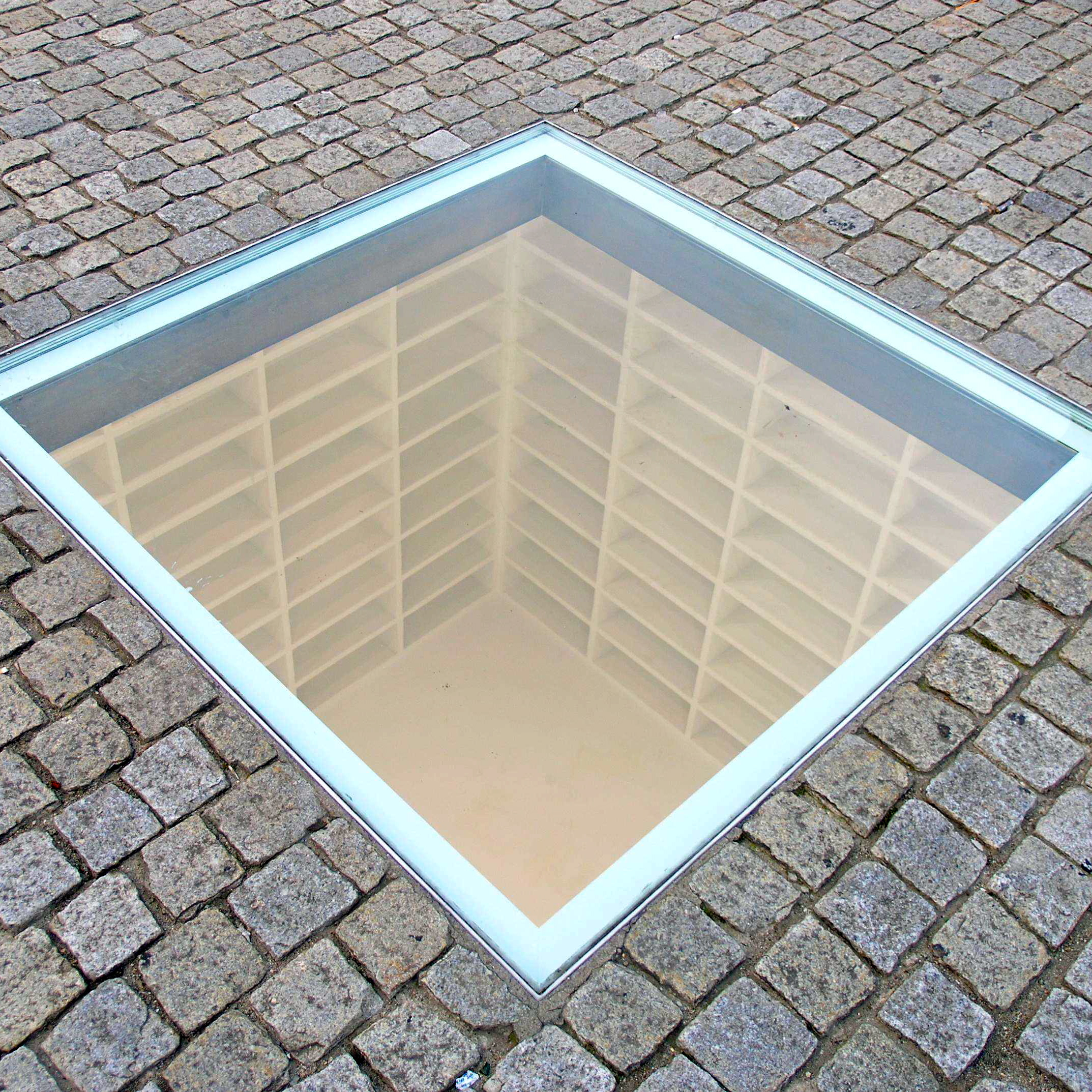 Image result for bebelplatz berlin memorial
