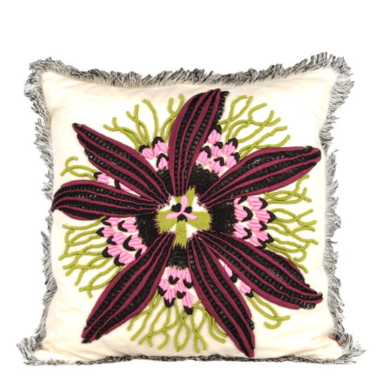 YOOX-Missoni-Passion-Flower-Kissen