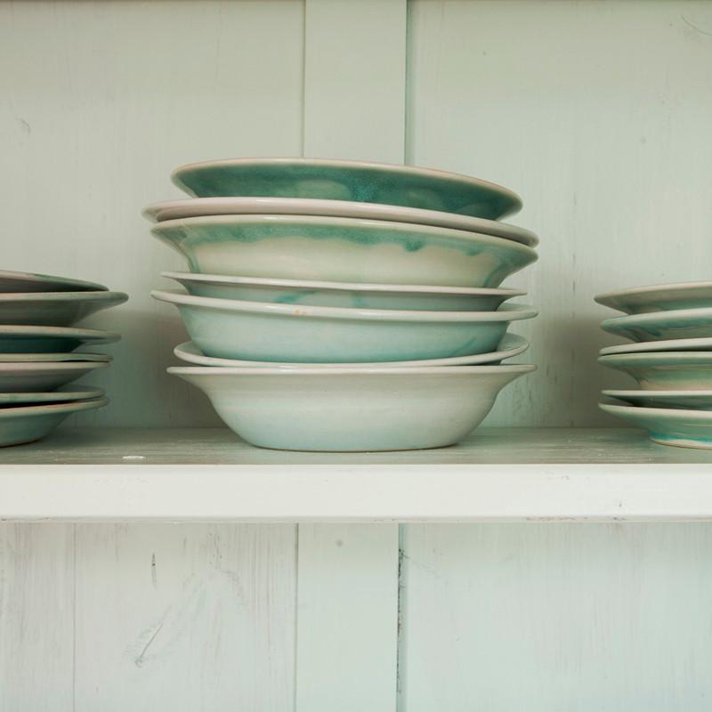 3punktF-keramik-teller-grün