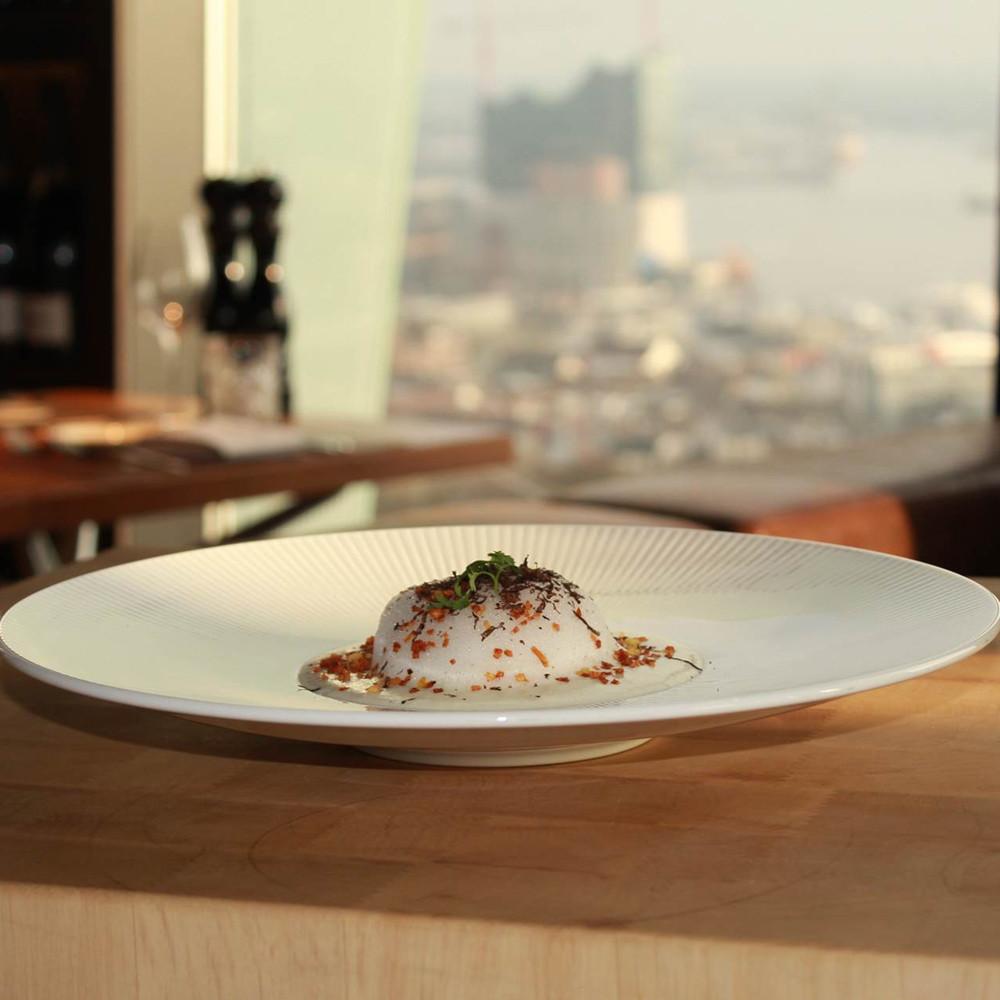 Clouds-Restaurant-Essen mit Ausblick