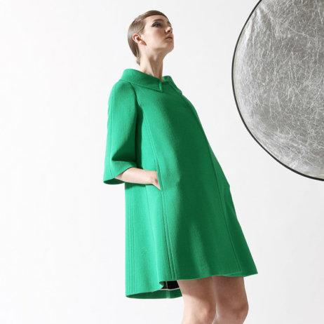 Eclectic Fashion Shop Zürich grünes Kleid