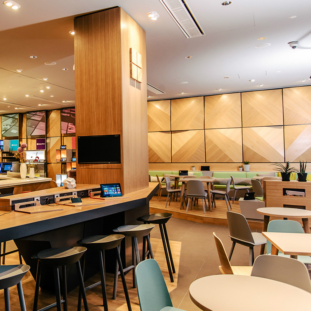 Microsoft Berlin: Cafébereich der Digital Eatery - 1