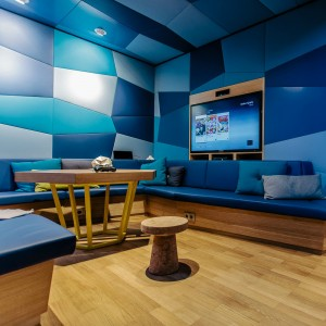 Microsoft Berlin: Music Lounge in der Digital Eatery