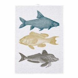 Geschirrtuch Fische von Frohstoff