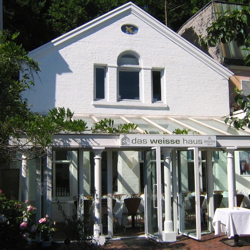 Das Weiße Haus-Restaurant-Elbe-Kapitaenshaus