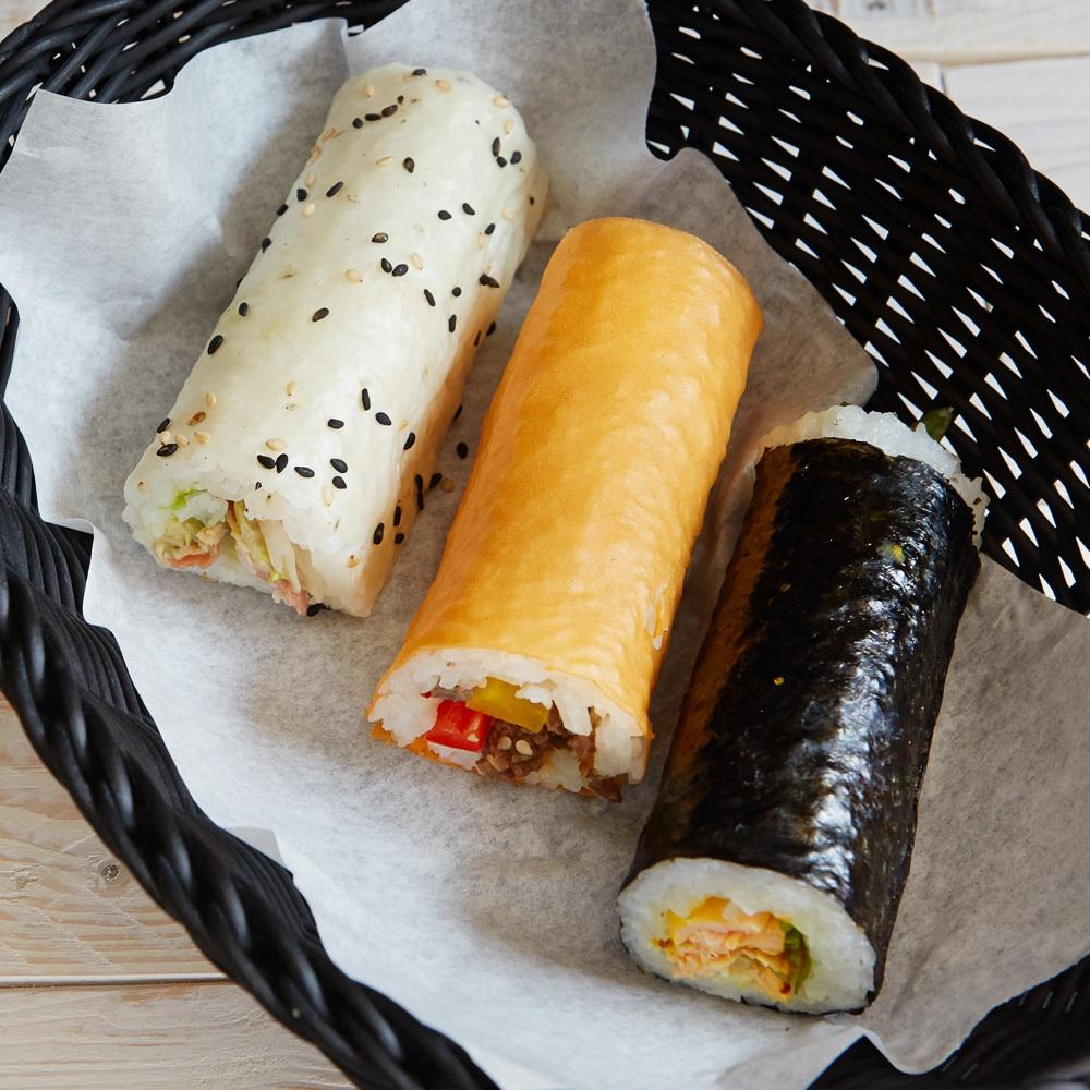 Maki Rolls to go Sushi Rollen Snack Torstraße