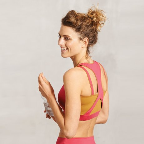 Wellicious-Yoga-Pilates Kleidung-Pink-Top