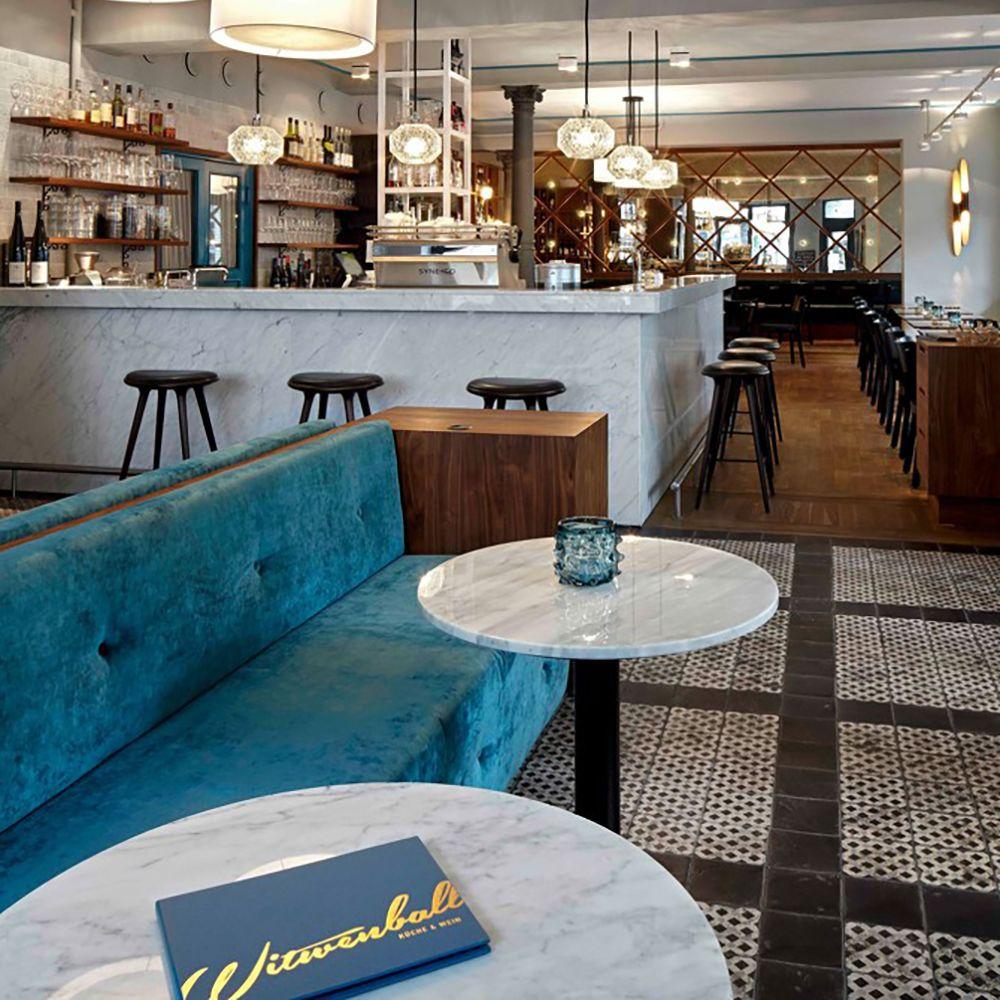 Witwenball Weinbar Restaurant Eimsbuettel Interior