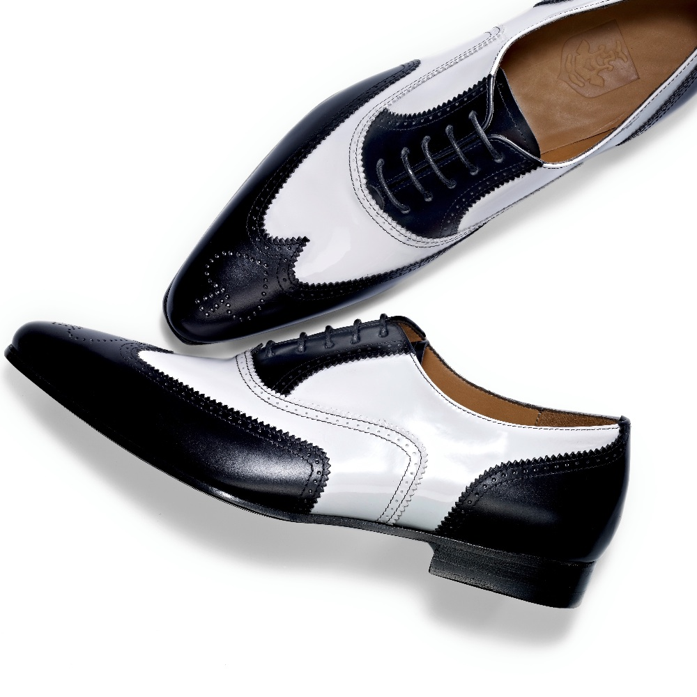 Binné Designed in Hamburg Brogues Pik As