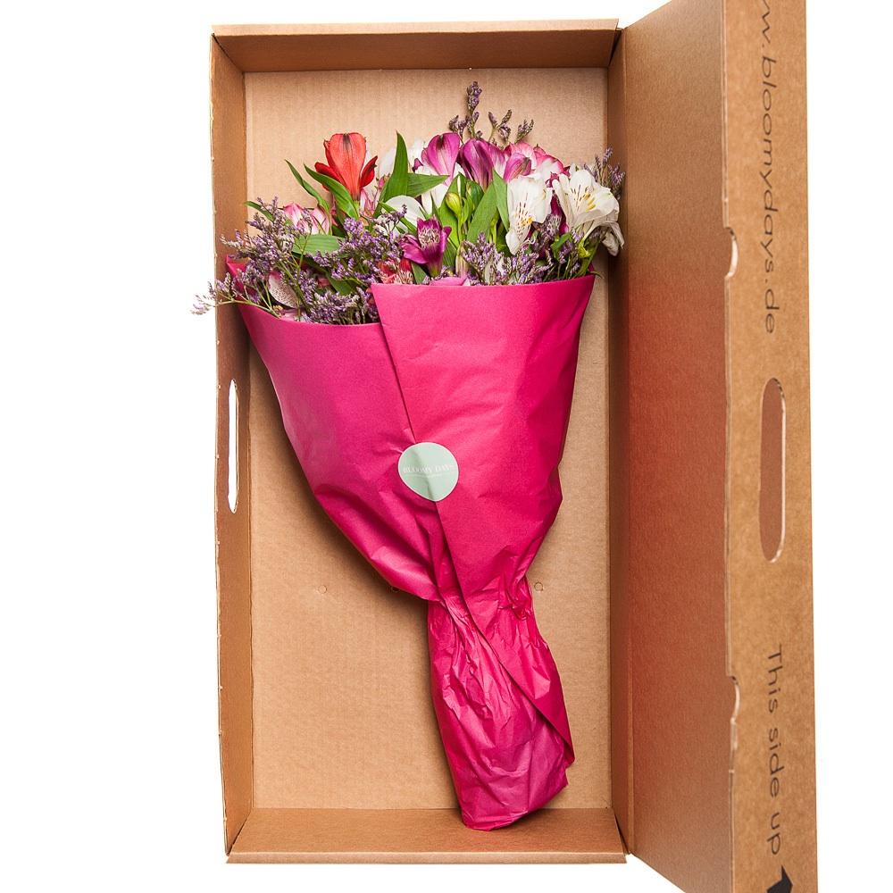 Bloomy Days Blumen Versand online Verpackung