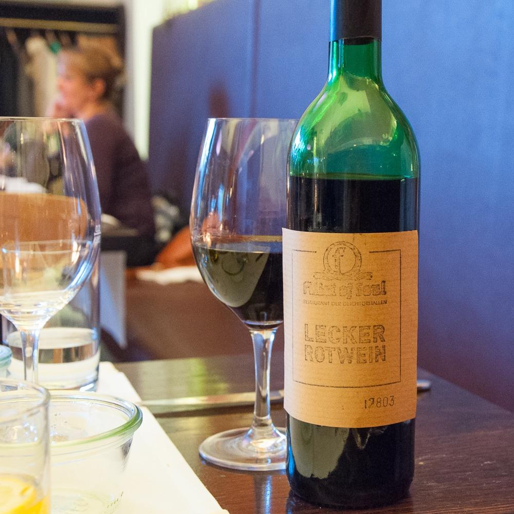 Fillet of Soul Restaurant Dammtorhallen Hamburg Wein