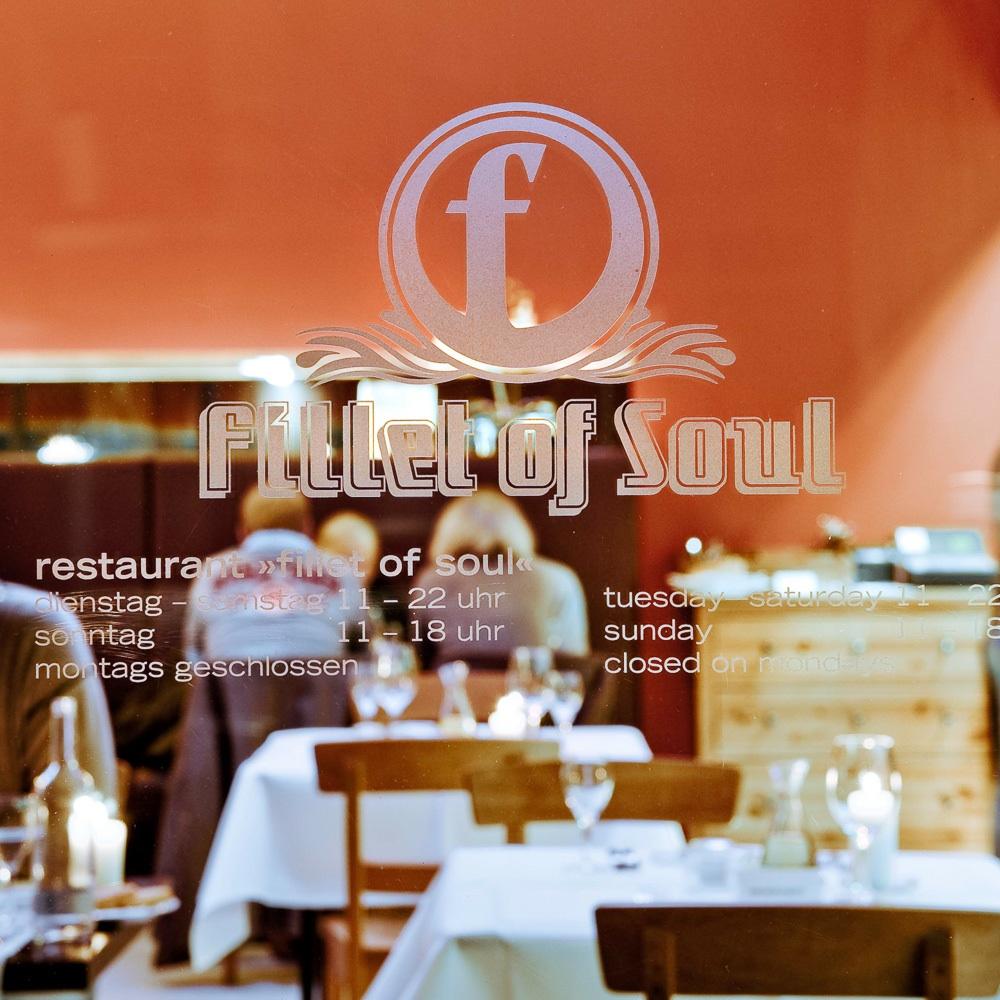 Fillet of Soul Restaurant Deichtorstraße Hamburg Interieur