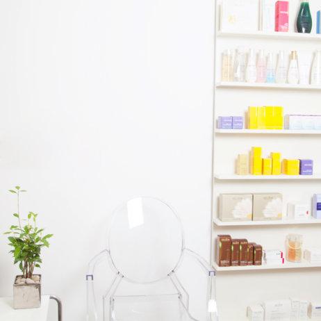 Haut und Sein Kosmetikerin Berlin Mitte Interieur