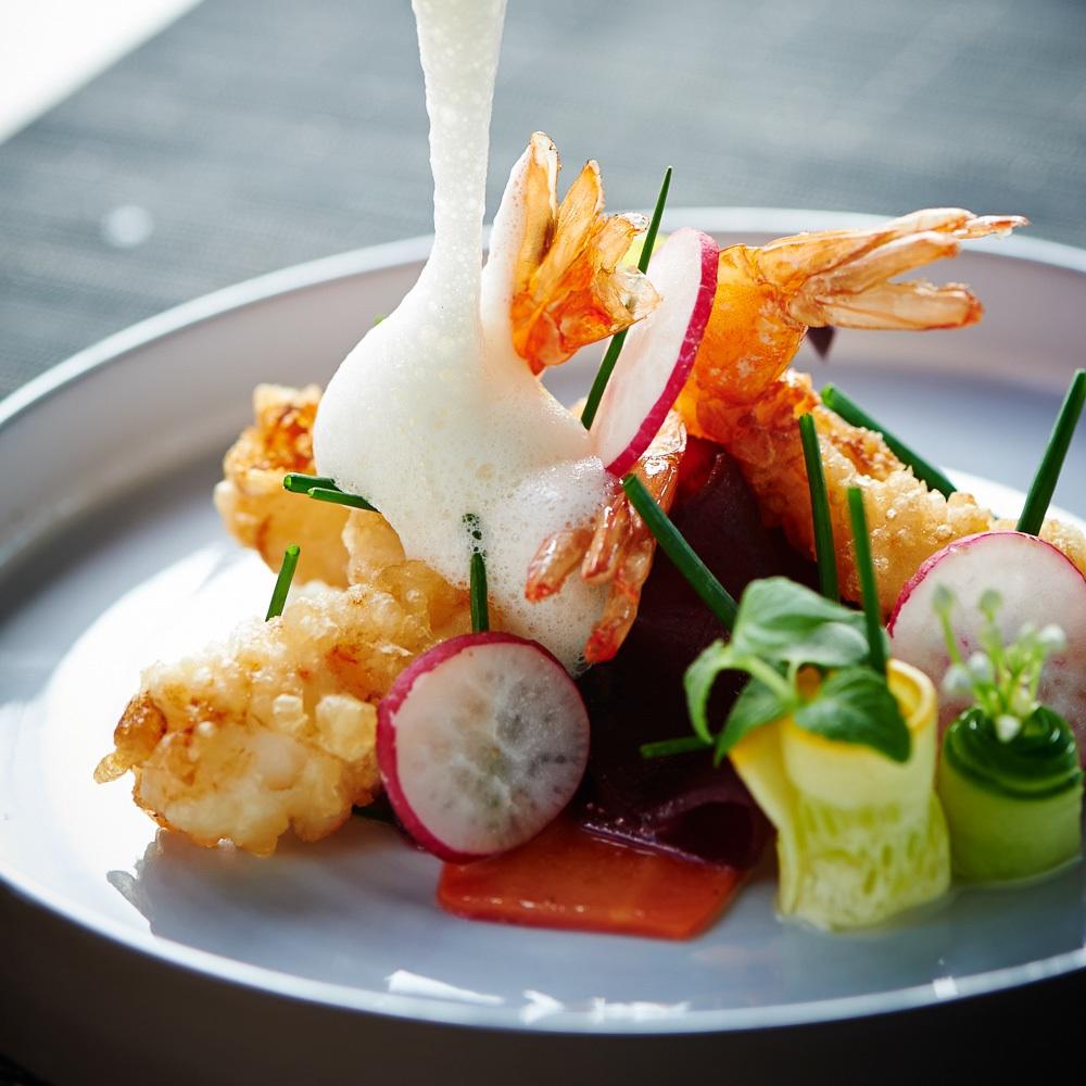 Ono Steffen Henssler Sushi Hamburg Garnelen
