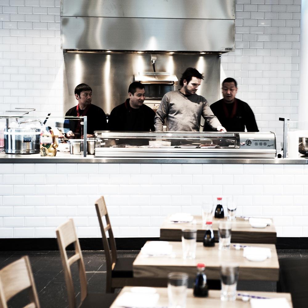 Ono Sushi Restaurant Henssler Hamburg Küche