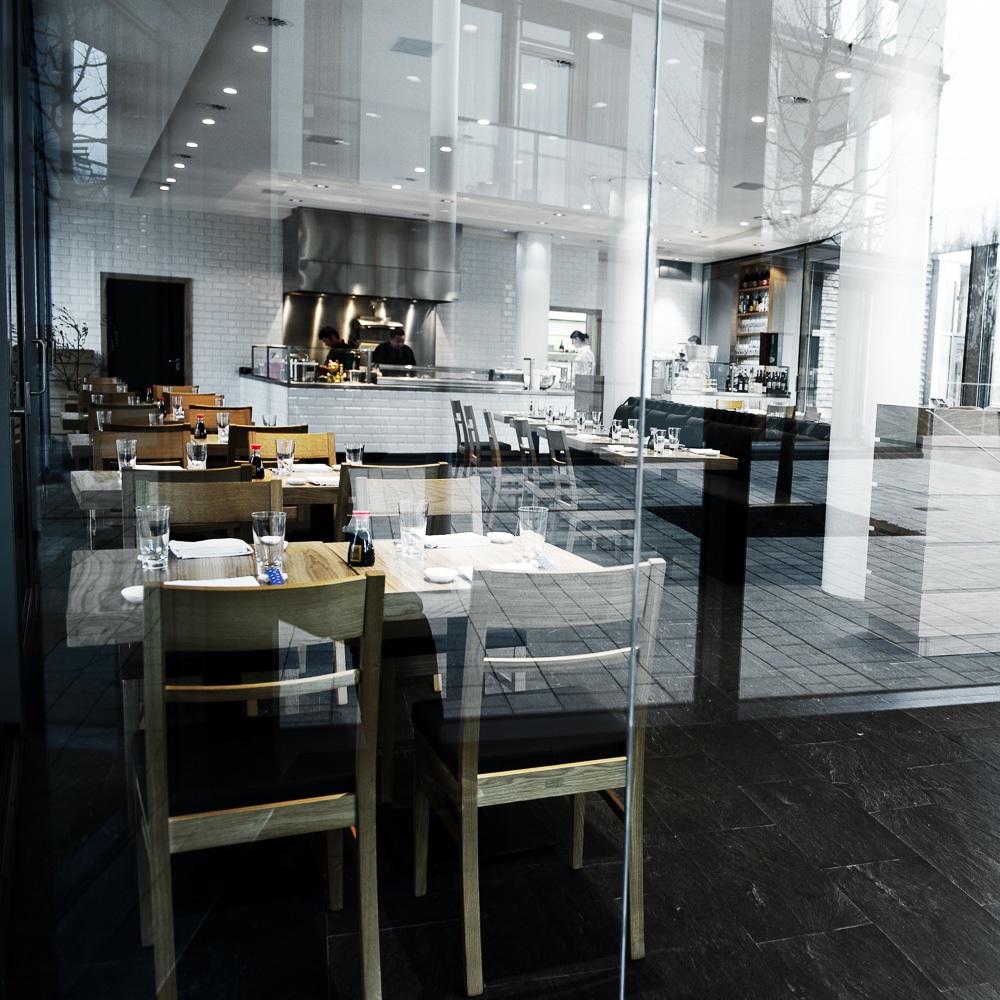 Ono Sushi Restaurant Henssler Hamburg Einrichtung