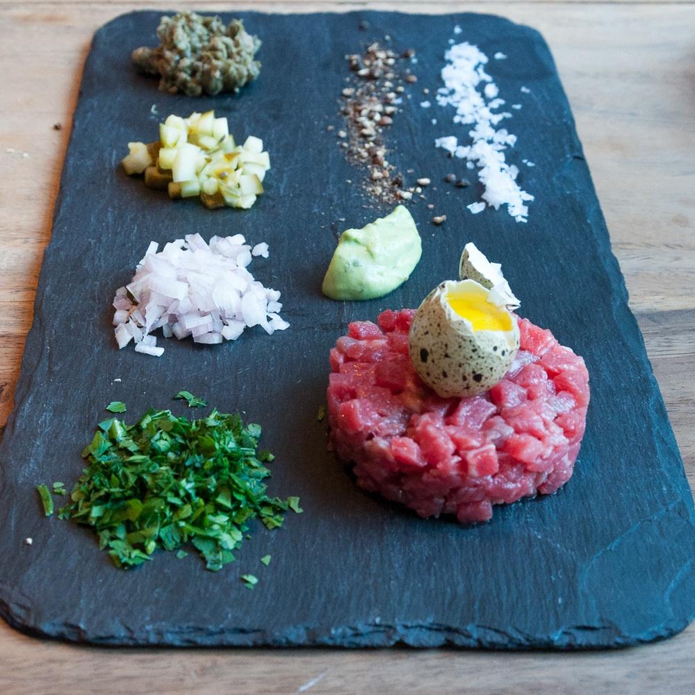 Parker Bowles Restaurant Berlin Kreuzberg Tartar