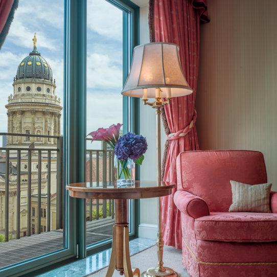 Regent Berlin Hotel Gendarmenmarkt Berlin Ausblick
