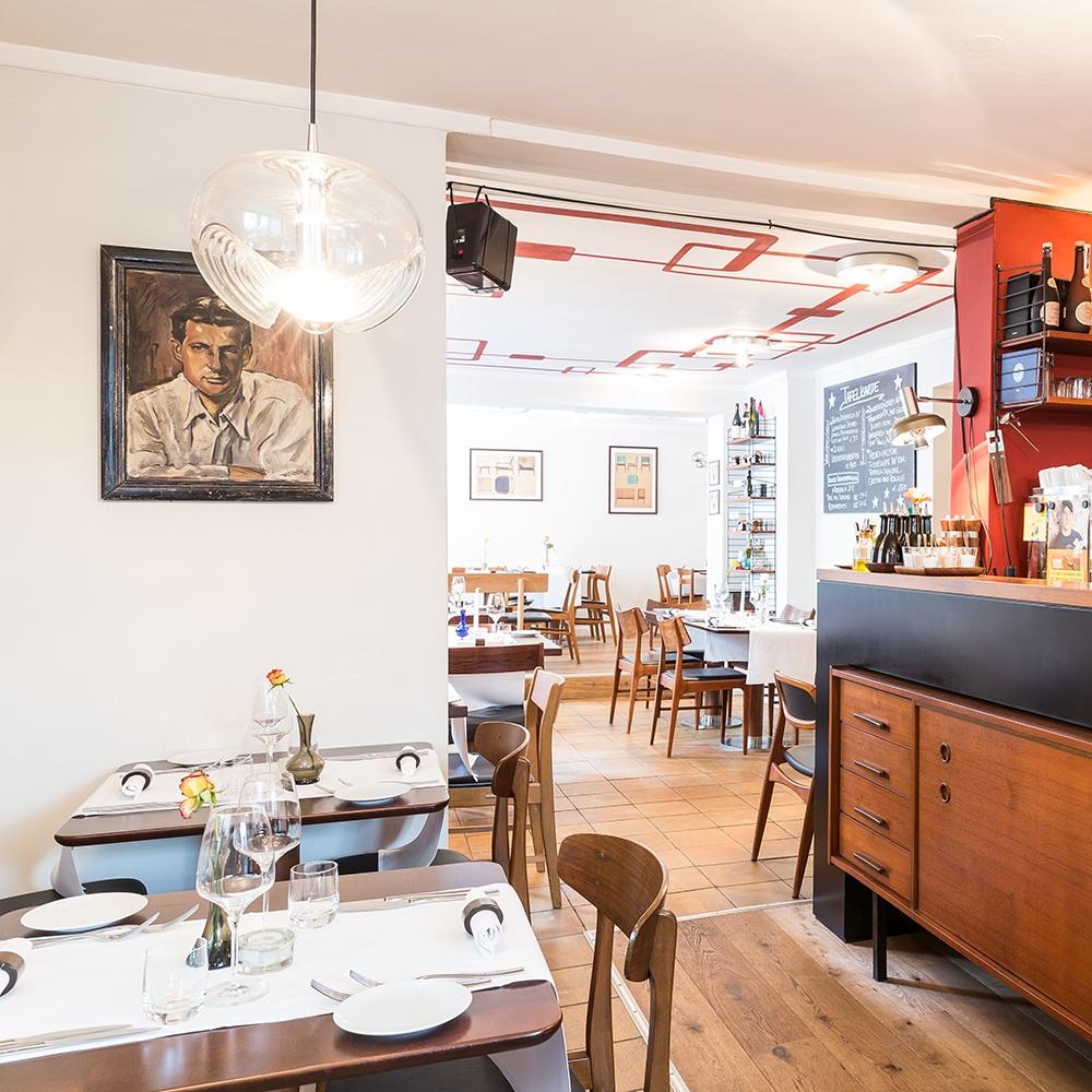 Restaurant Olsen Eimsbüttel Tisch
