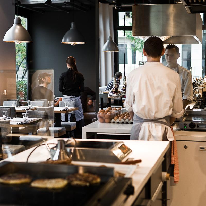 Chipps vegetarisches Restaurant Berlin Mitte Küche