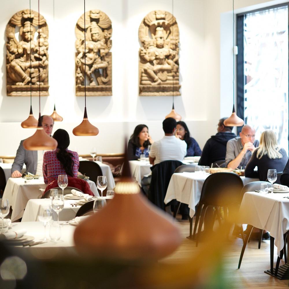 Guru Indisches Restaurant Kopenhagen Interieur