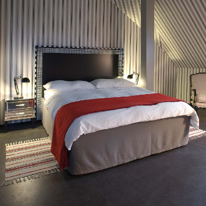 Helvetia Hotel Zürich Zimmer mit Doppelbett