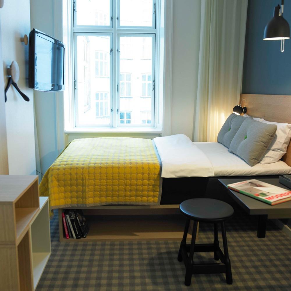 Ibsens Hotel Kopenhagen Altstadt Zimmer mit Doppelbett