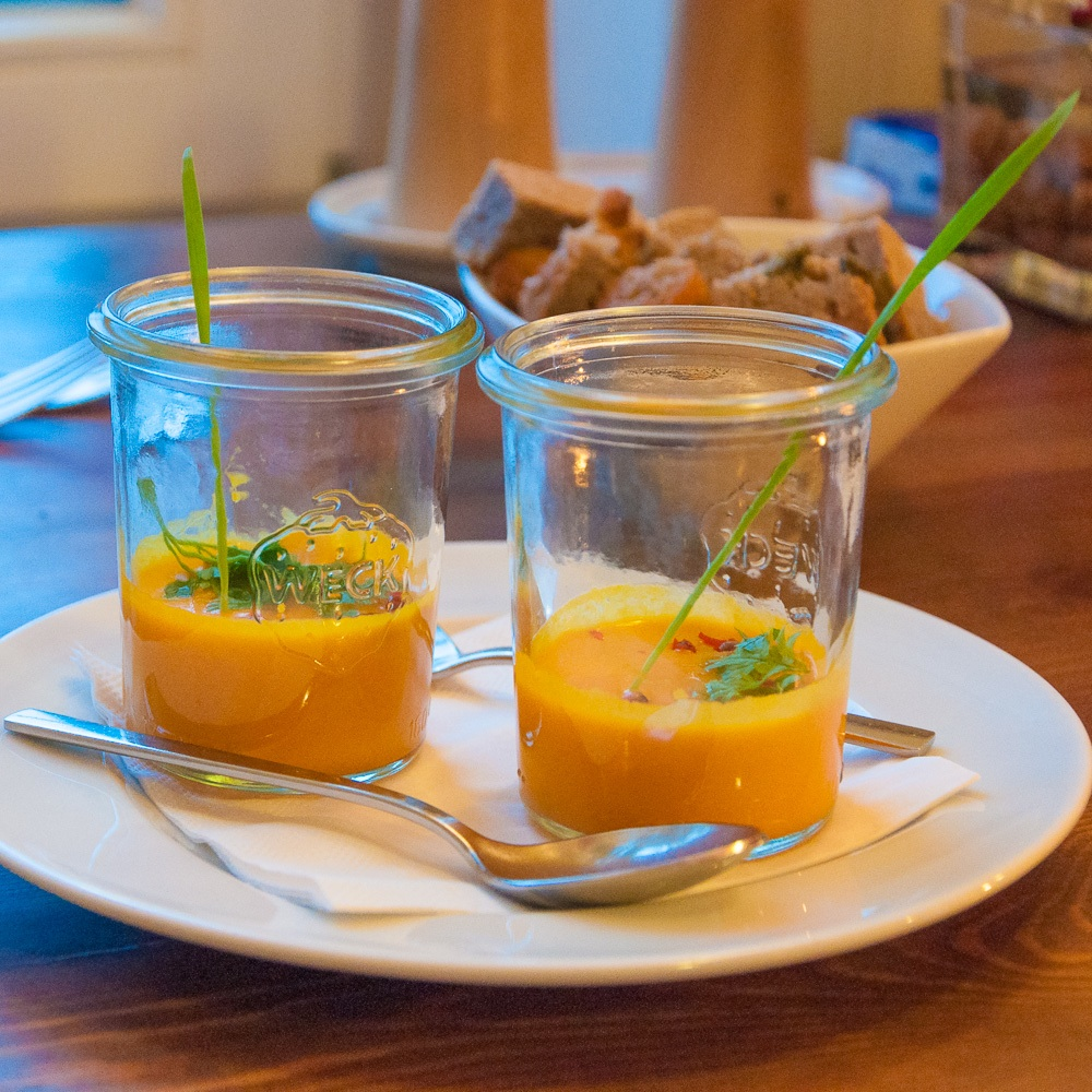 Mio Matto Veganes Restaurant Berlin Vorspeise