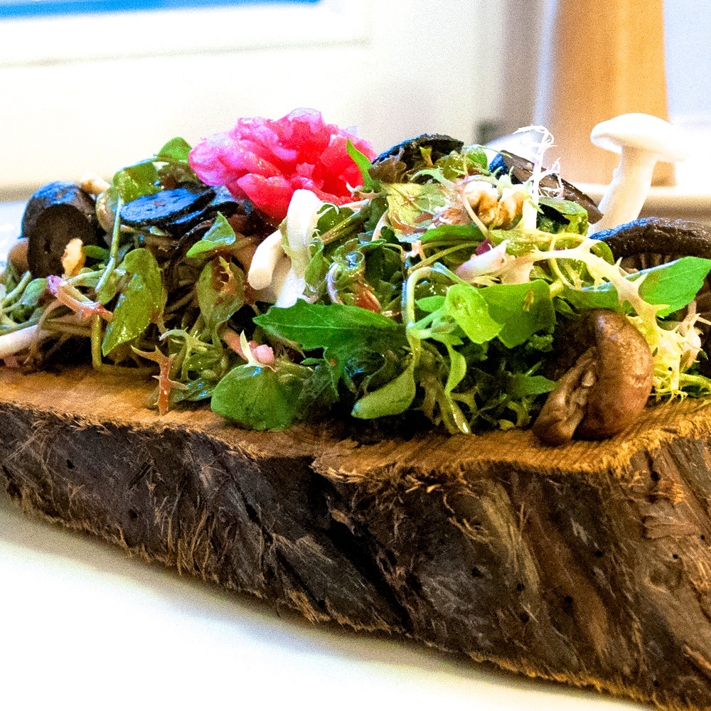 Mio Matto Veganes Restaurant Berlin Salat