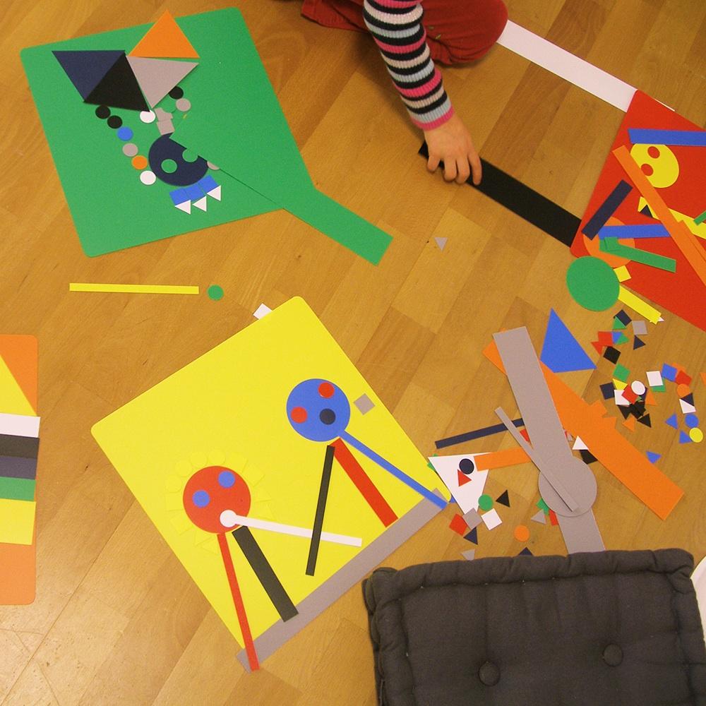 Nuori Malspielraum Kinder Zürich Papier
