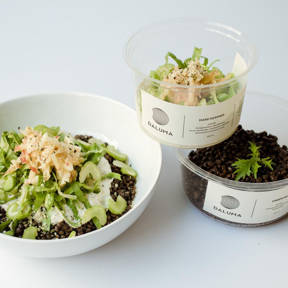 Daluma vegane Snacks Rosenthaler Platz Mitte Salat to go