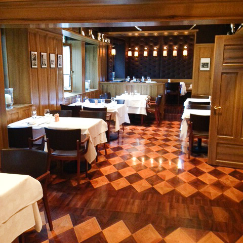 Heuguemper Restaurant Zürich Altstadt Innenraum