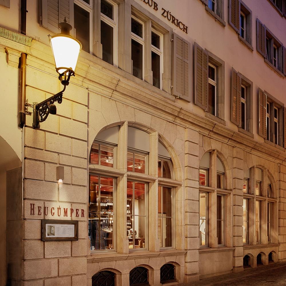 Heuguemper Restaurant Zürich Altstadt Außenansicht