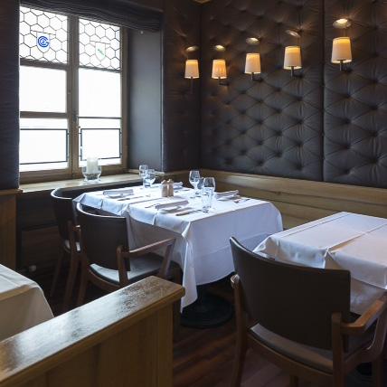 Heuguemper Restaurant Zürich Altstadt Interieur
