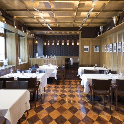 Heuguemper Restaurant Zürich Altstadt Einrichtung