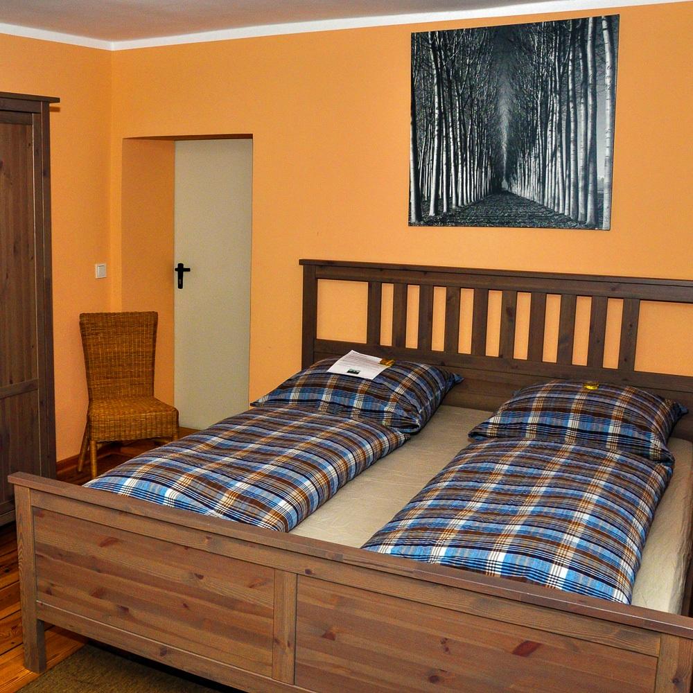 Jagdschloss Grunewald Ferienwohnung Schlafzimmer