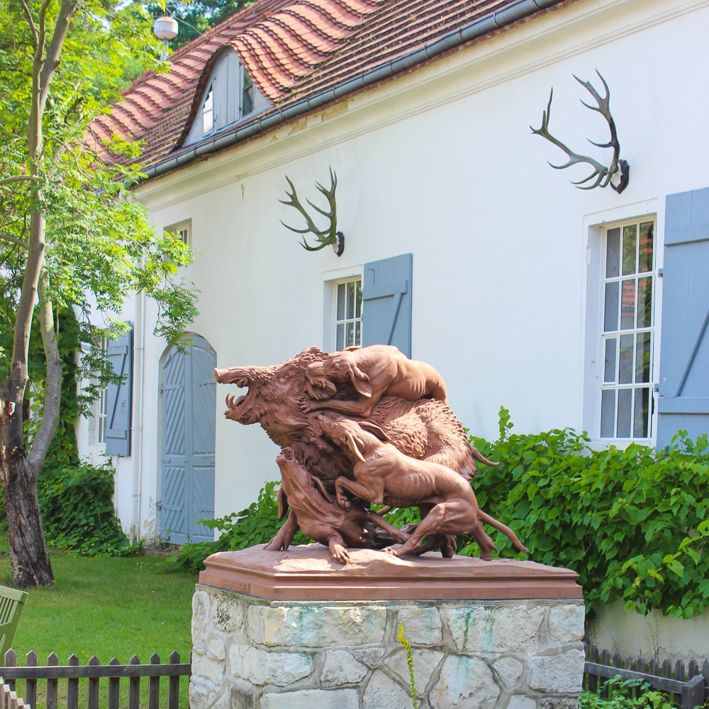 Jagdschloss Grunewald Innenhof