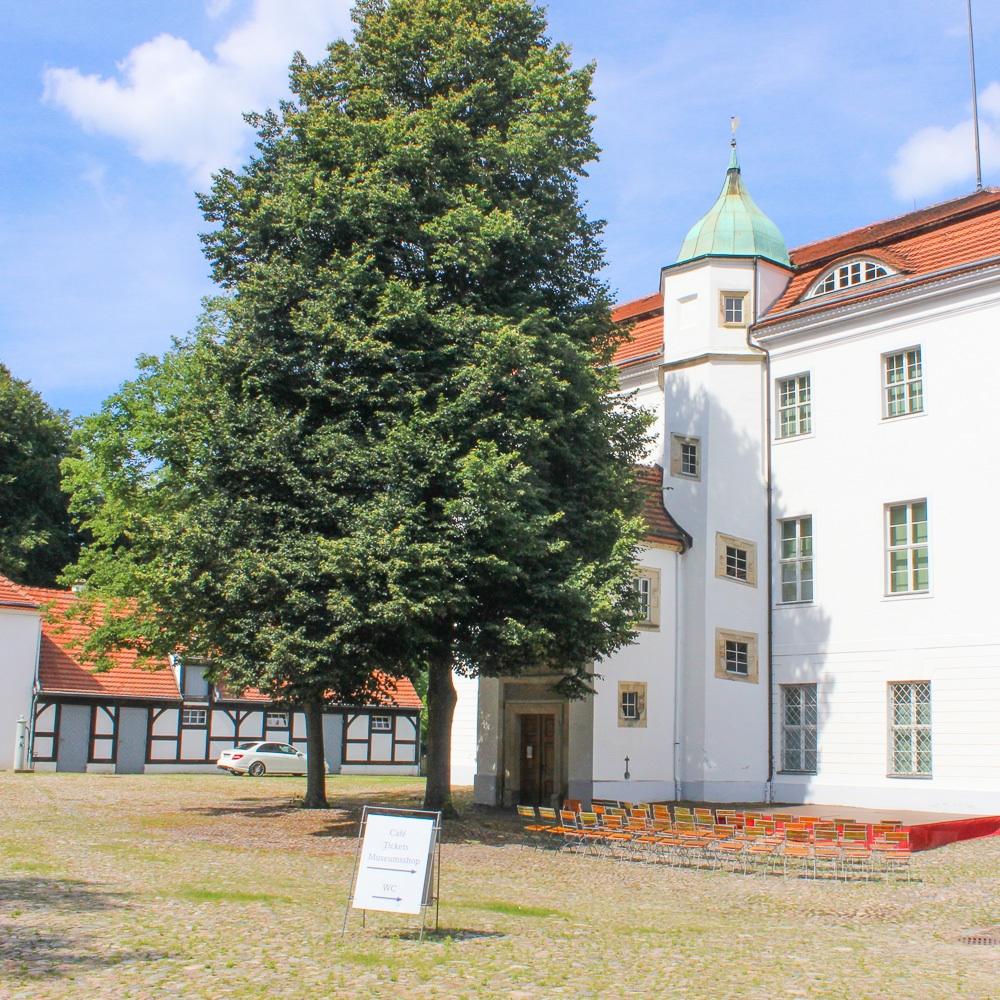 Jagdschloss Grunewald Innenhof Schloss