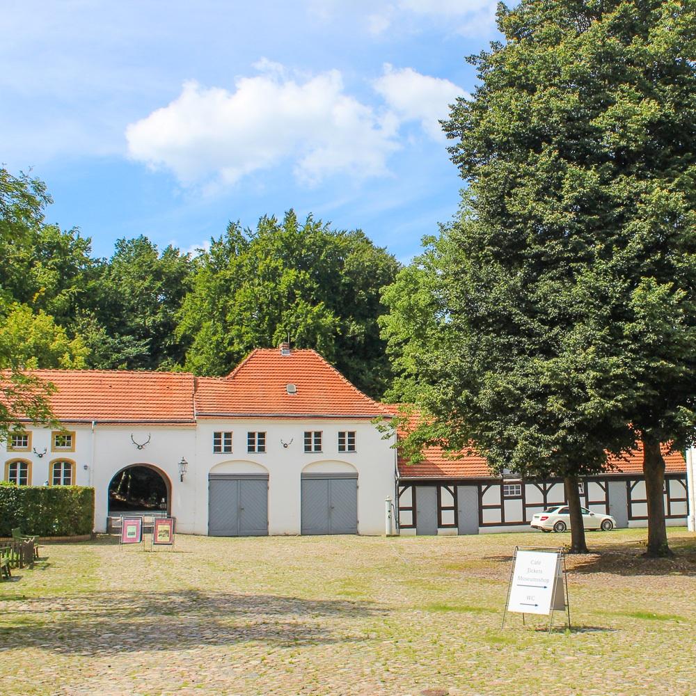 Jagdschloss Grunewald Innenhof Außenansicht