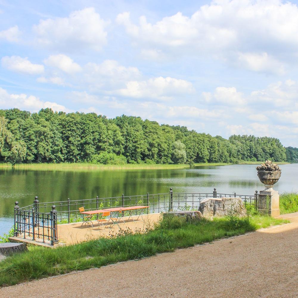 Jagdschloss Grunewald Innenhof Grundewaldsee